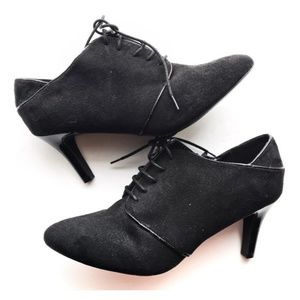 Impo • NWT Suede Lace Up Heeled Booties